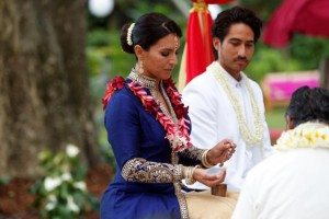 Congresswoman Tulsi Gabbard at her Vedic wedding