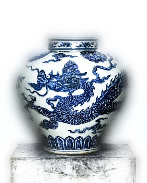 Jar with Dragon, early 15th century