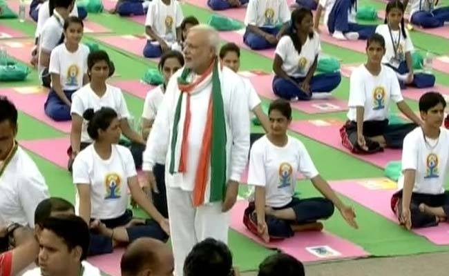 International Day of Yoga with PM Modi
