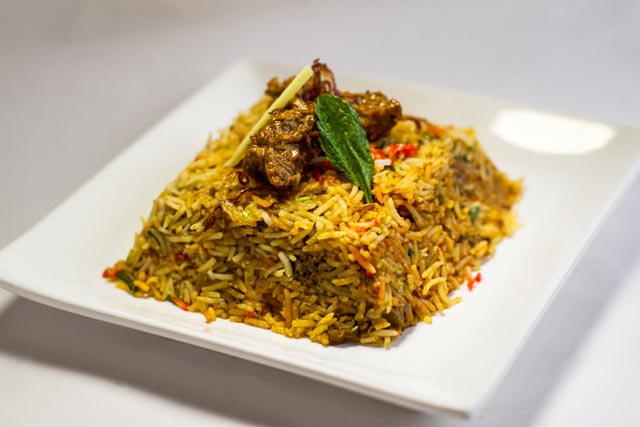 Biryani at Masalawala