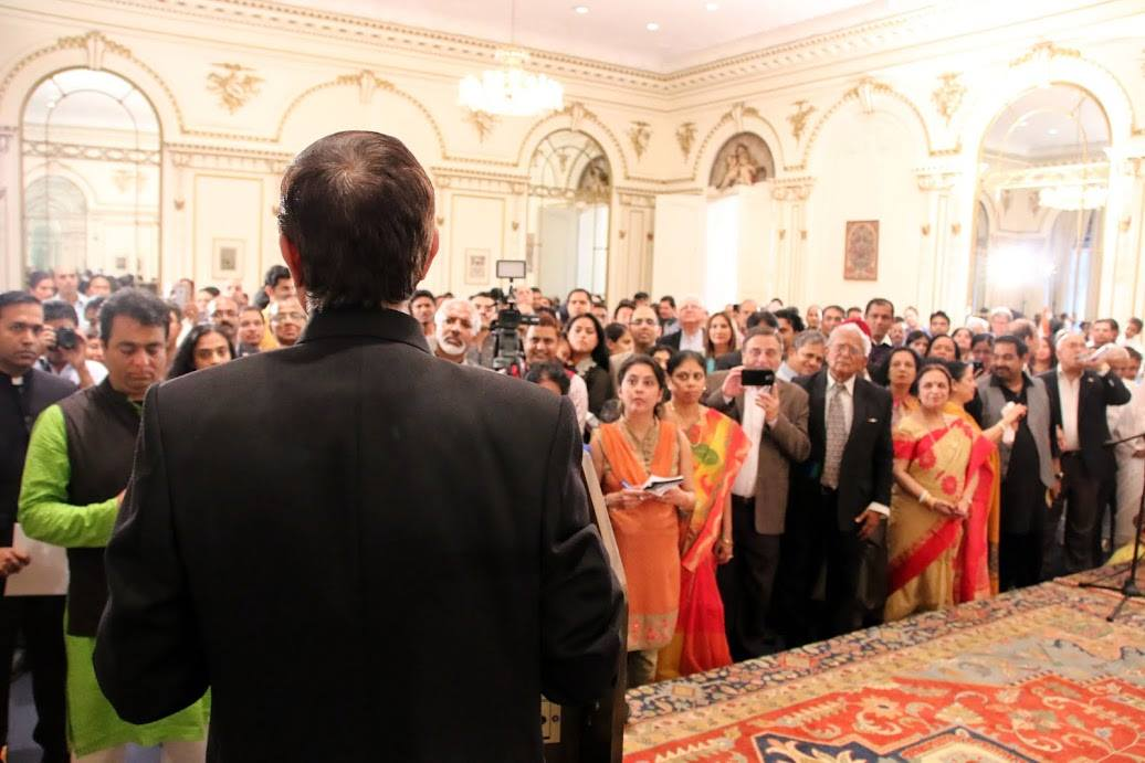Ambassador Mulay addresses the guests
