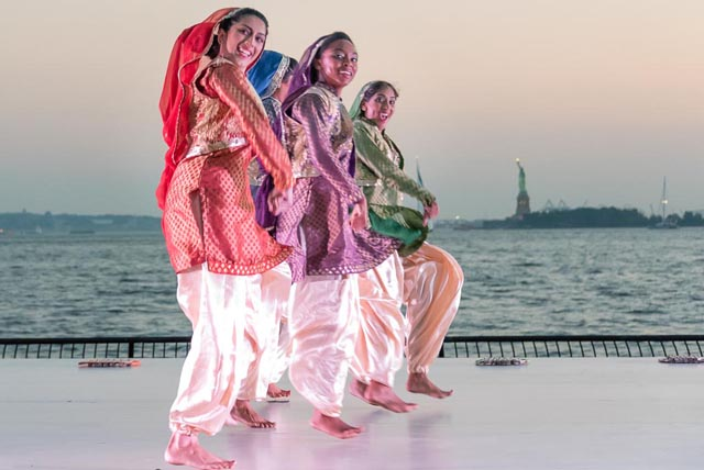 Shaan Mutiyaaran Di Bhangra (SMD) is an all-female, NYC based bhangra team