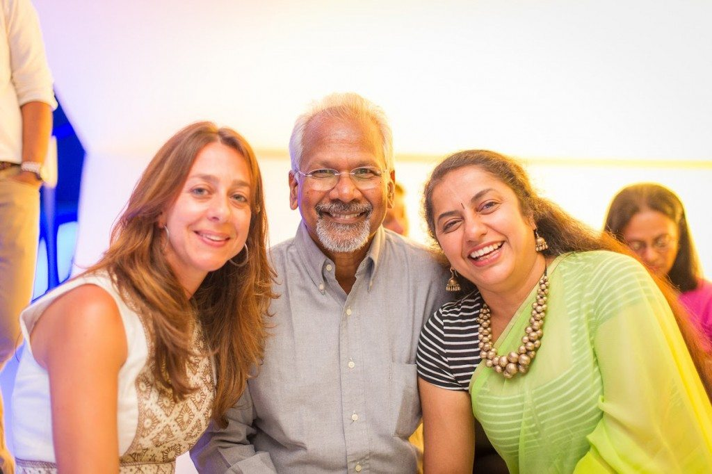 Christina Marouda, Mani Ratnam and Suhashini Mani Ratnam