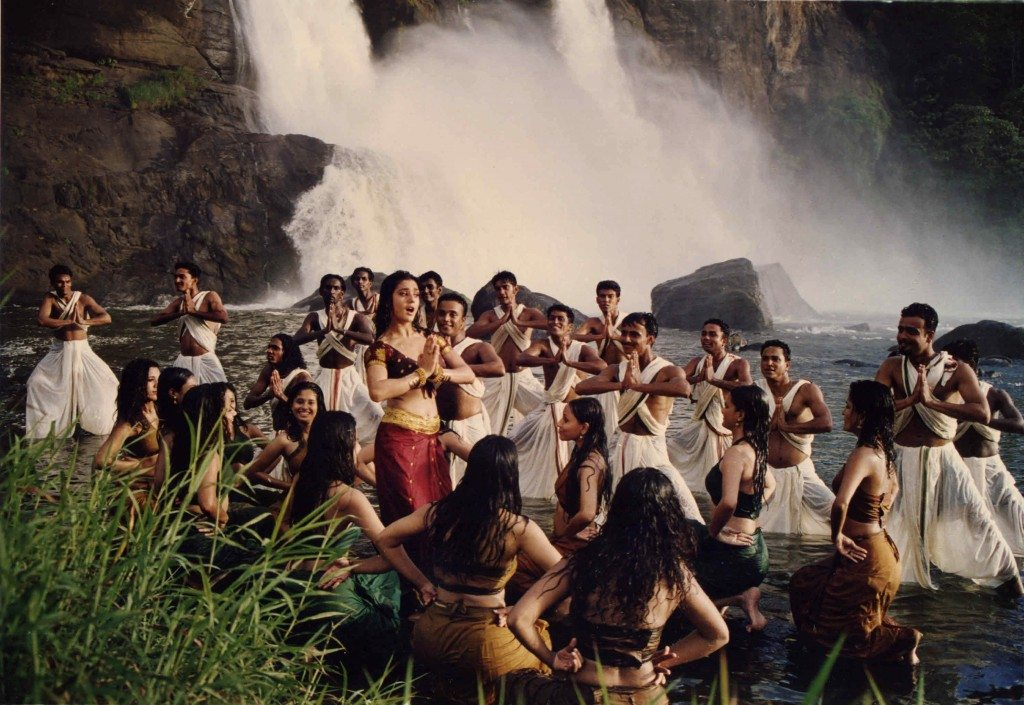 Preity Zinta (center, among dancers) in Mani Ratnam's Dil Se (1998), screening at Museum of the Moving Image