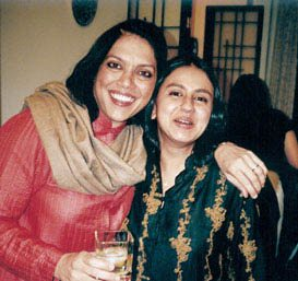 Mira Nair and Sabrina Dhawan
