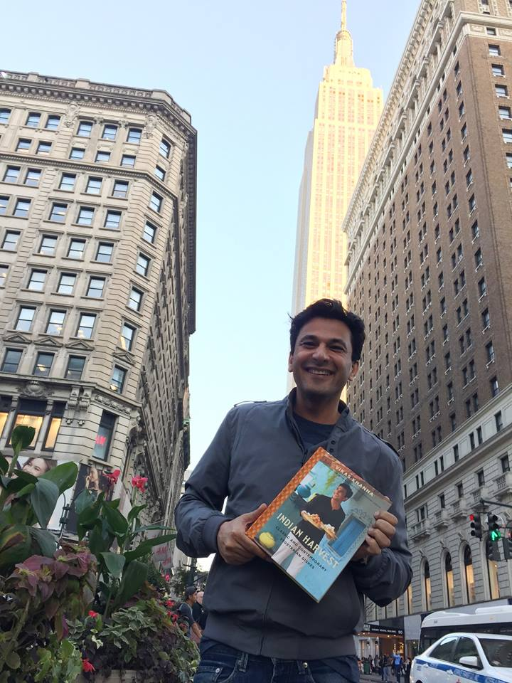 Vikas Khanna with Indian Harvest