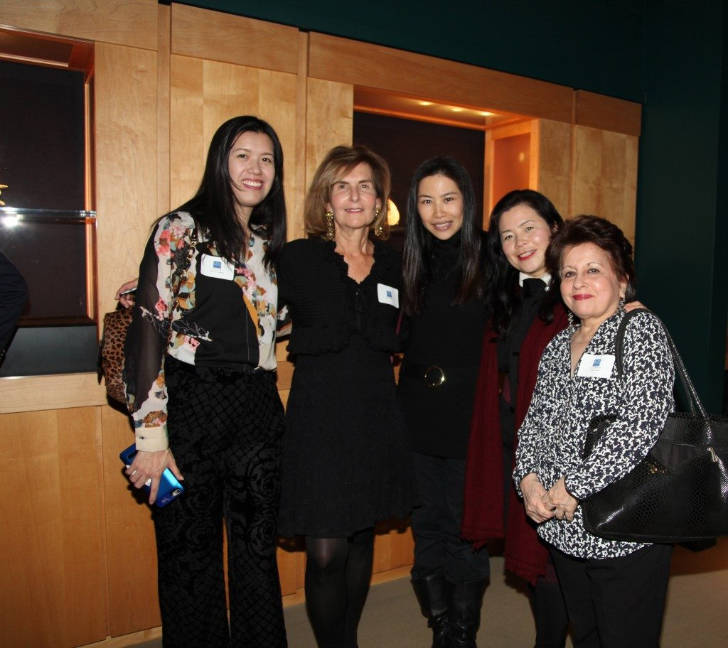 A gathering of scribes: Alice Chin, Marilyn White, Diana Lee, Younghye Hwang & Lavina Melwani