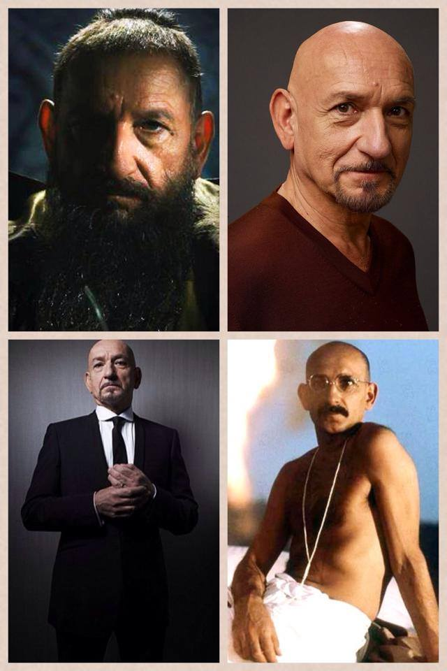 Ben Kingsley in many different avatars (The Global indian)