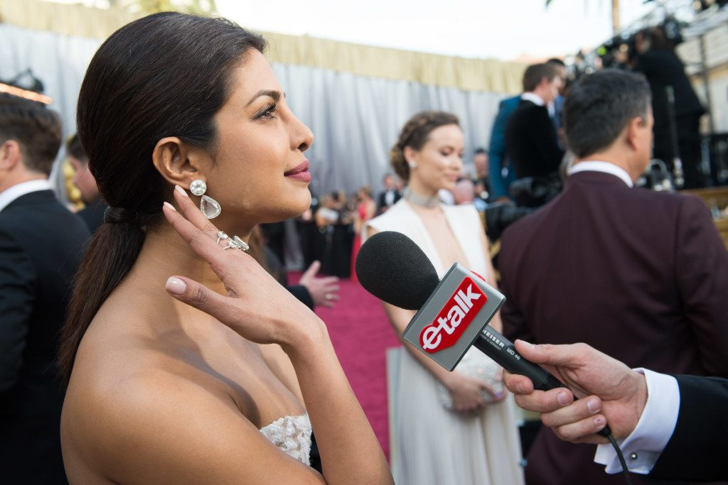 Priyanka Chopra arrives at The 88th Oscars® at the Dolby® Theatre in Hollywood, CA on Sunday, February 28, 2016.
