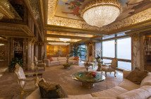 Donald nd Melania Trump's New York Penthouse - Sam Horine