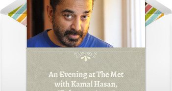 Kamal Hasan at the Met