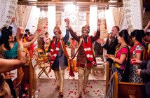 Neeral and Anu - Here come the bridegrooms!