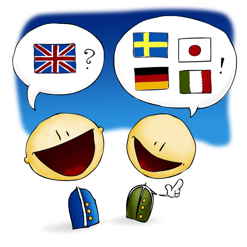 Multilingual talk - (Creative Commons)