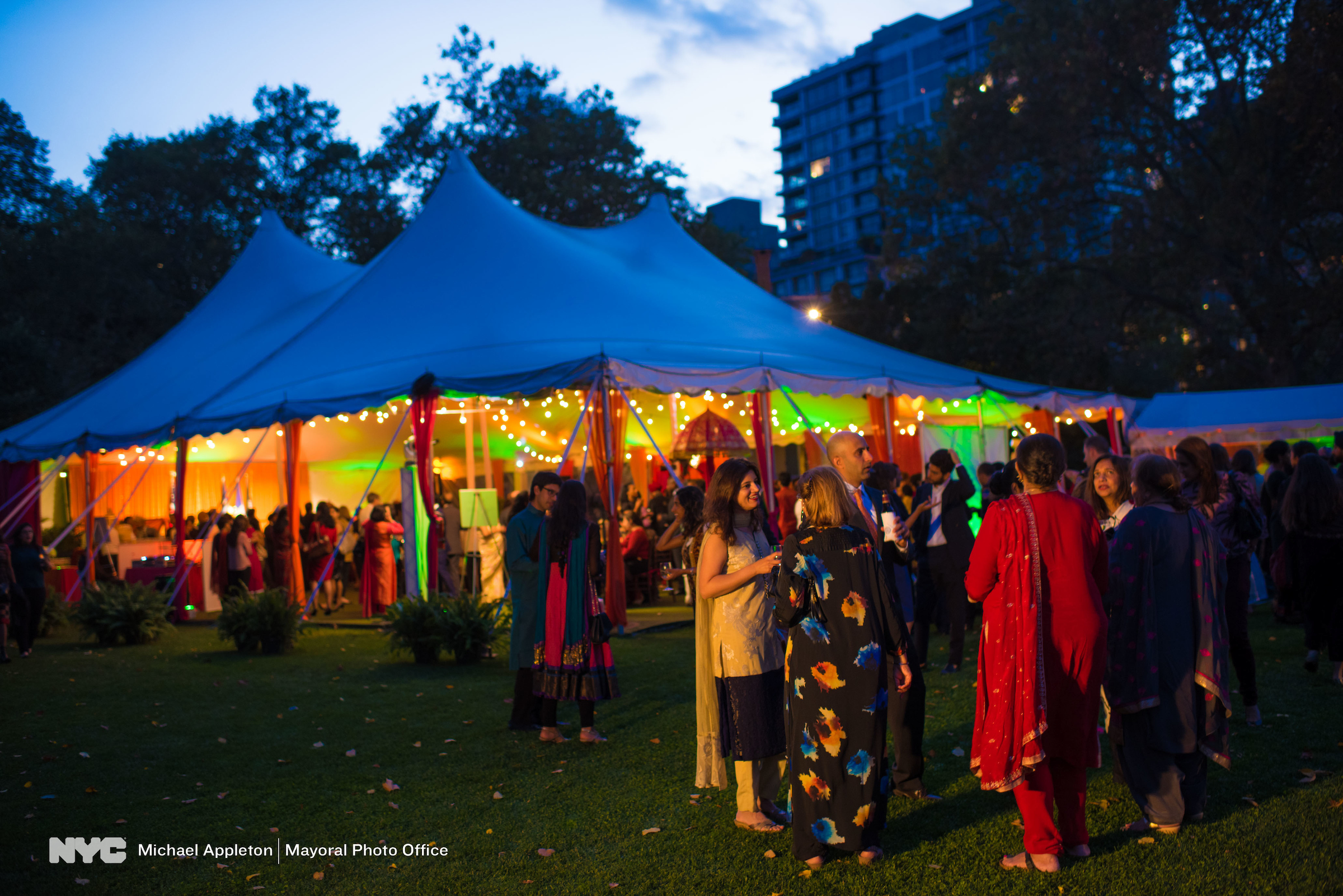 The big tent - celebrating Diwali (Michael Appleton/Mayoral Photography Office)