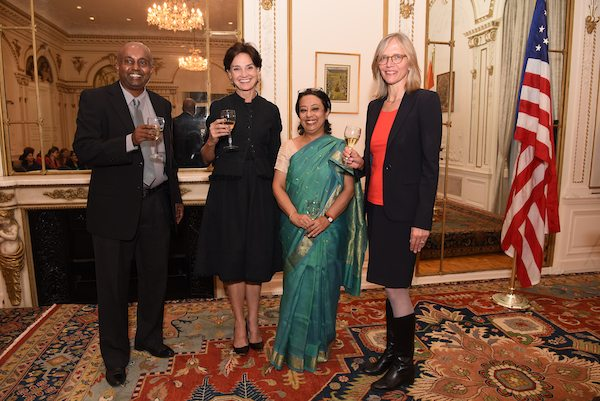 Reception celebrating the signing of an agreement between the Government of India and The Metropolitan Museum of Art with the support of the Mellon Foundation for the Indian conservation Fellowship Program