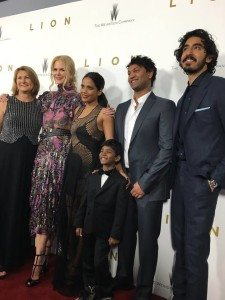 'Lion' : Mothers and Sons - Mrs. Brierley, Nicole Kidman, Priyanka Bose, Sunny Pawar, Saroo Brierley and Dev Patel at MoMA, the Museum of Modern Art