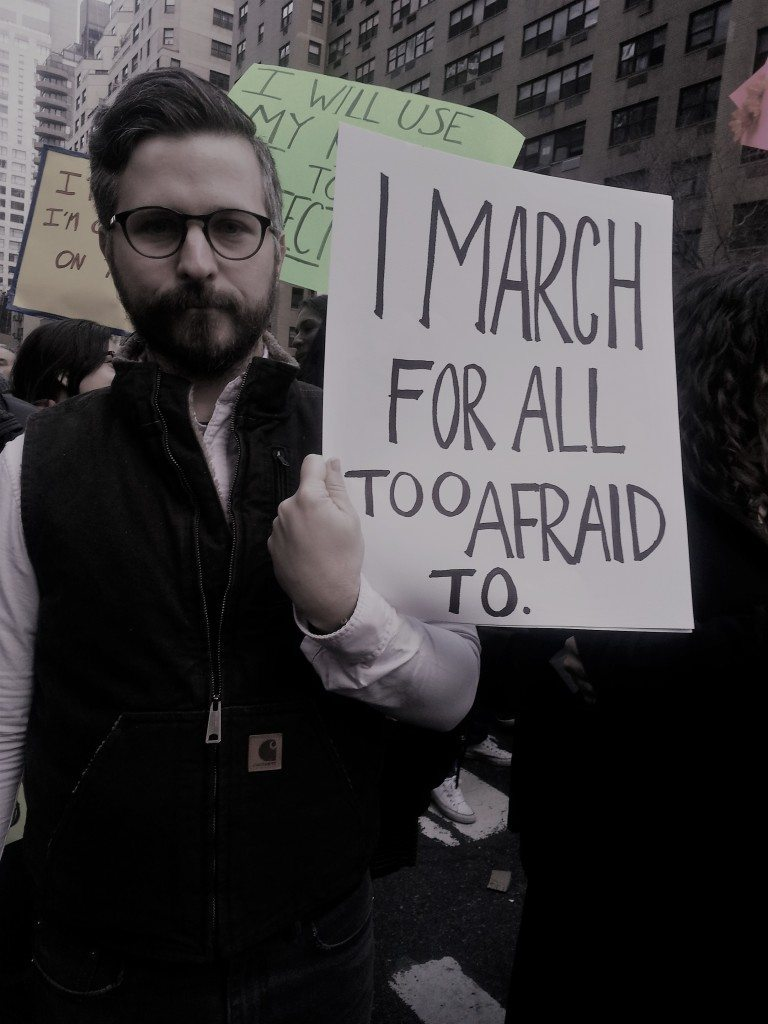 I March for All Too Afraid to. Photo: Lavina Melwani