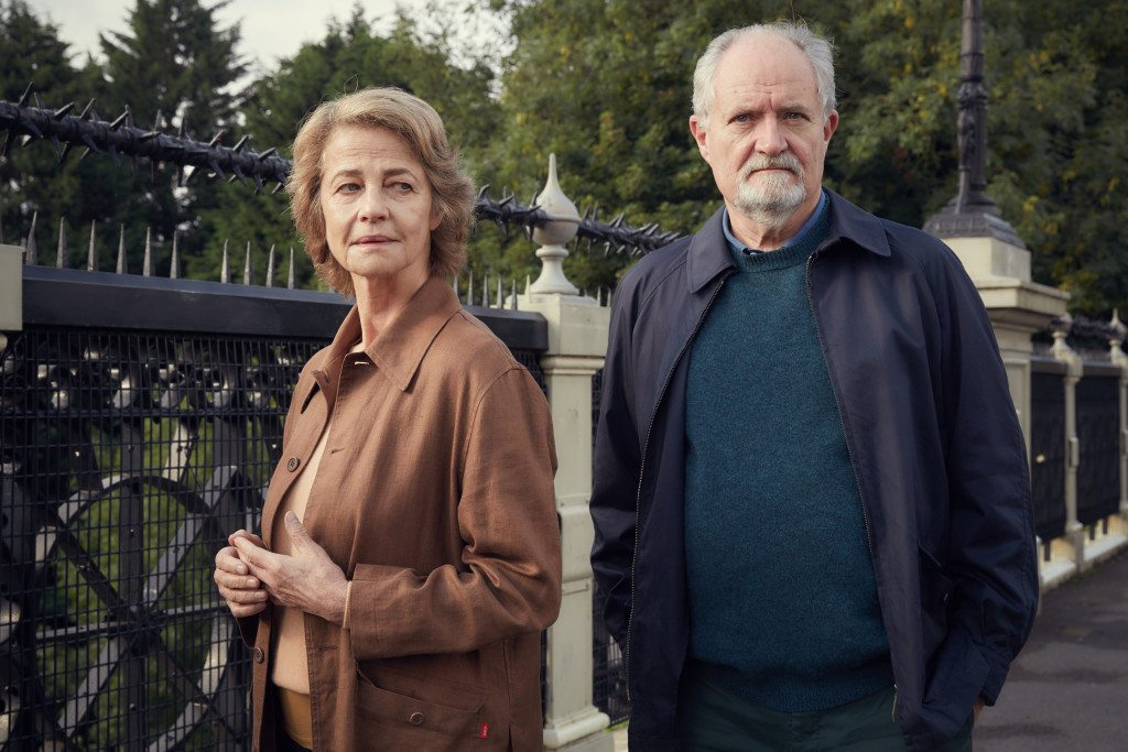 Charlotte Rampling & Jim Broadbent in The Sense of a Beginning