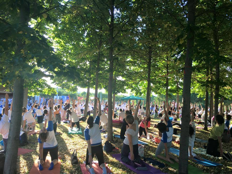International Day of Yoga in Italy