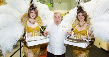 Jacques Torres at the opening of the Chocolate Museum in Soho