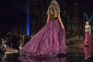 Mac Duggal designs on the runway