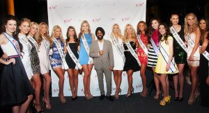 Mac Duggal With 2016 Miss USA Contestants