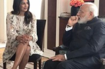 Priyanka Chopra and PM Modi
