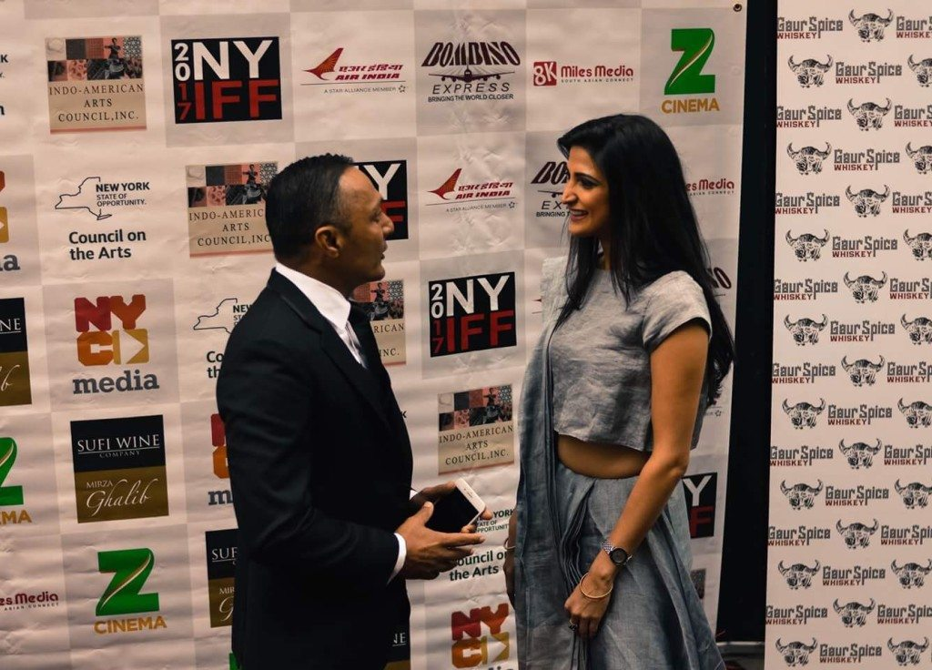 Rahul Bose and Aahana Kumra