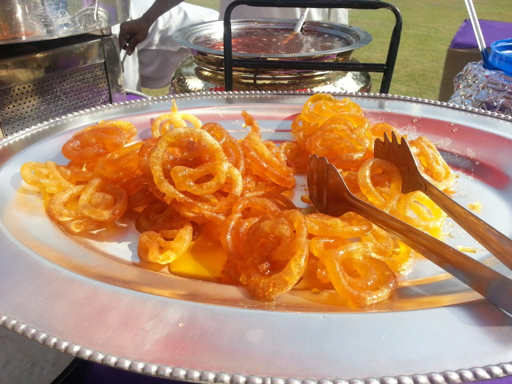 Heavenly jalebis, a vegetarian delight