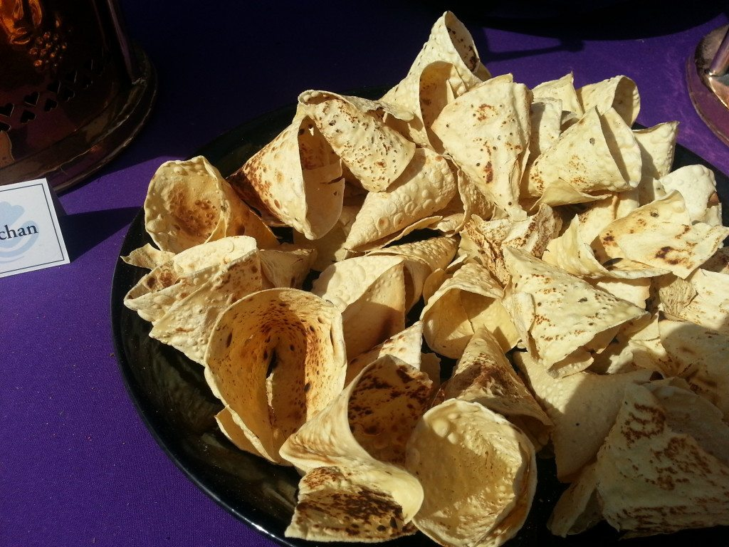 Papad served in fun ways