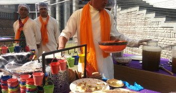Chefs from Mathura create a vegetarian Holi feast