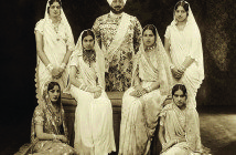 The Maharaja and his family