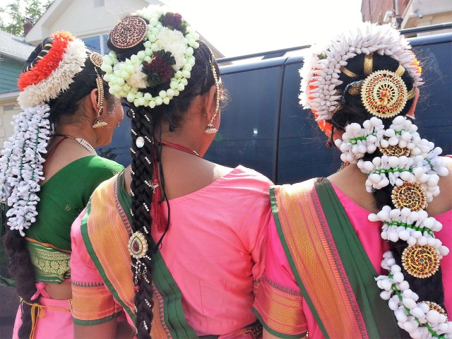Crowning Glory at the Ganesha Festival