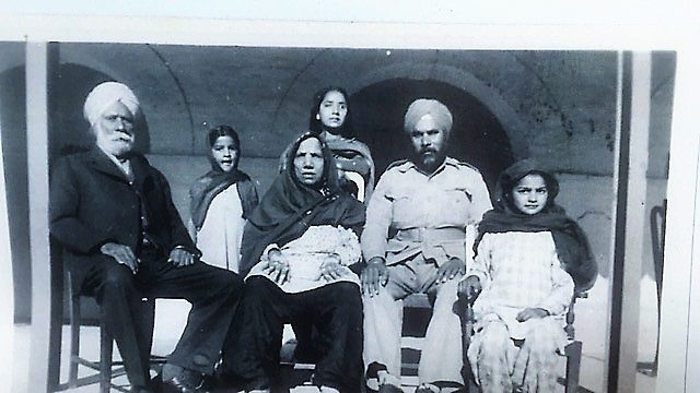 The family of Sardar Jagjit Singh