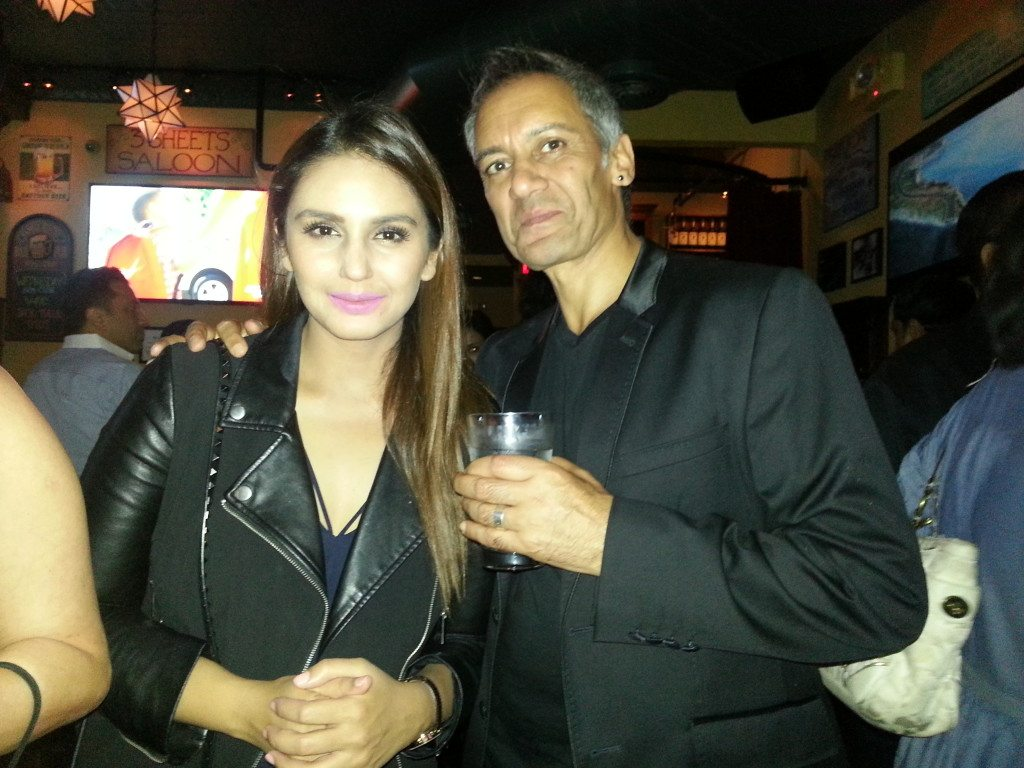 Huma Qureshi with Tanveer Ghani