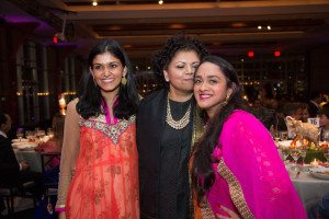 Lita and Chandrika Tandon with Anisha Nagarajan