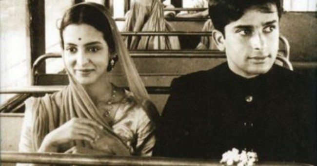 Shashi Kapoor and Leela Naidu in The Householder