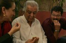 Shashi Kapoor with Sanjana and Kunal Kapoor