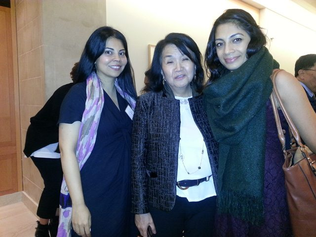 Diwali at the Met with Bonnie Wong and AWIB members