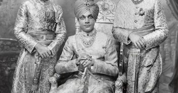 Nawab Haider Yakut Mohommad Khan of Sachin {Source: collection of Kenneth and Joyce Robbins}