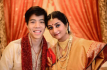 Philip and Pratibha - celebrating two cultures