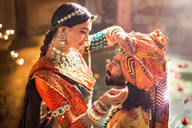 Padmaavat deepika shahid ranveer shine in slb universe for How far can granite span without support