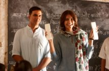 Akshay Kumar and Sonam Kapoor in Pad Man