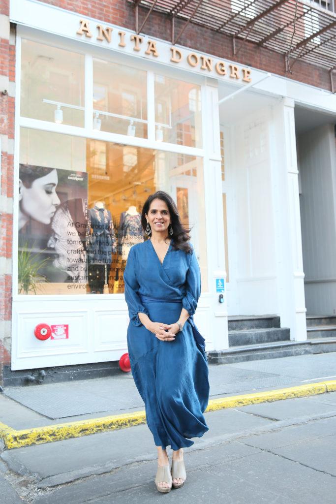 Anita Dongre Takes Manhattan