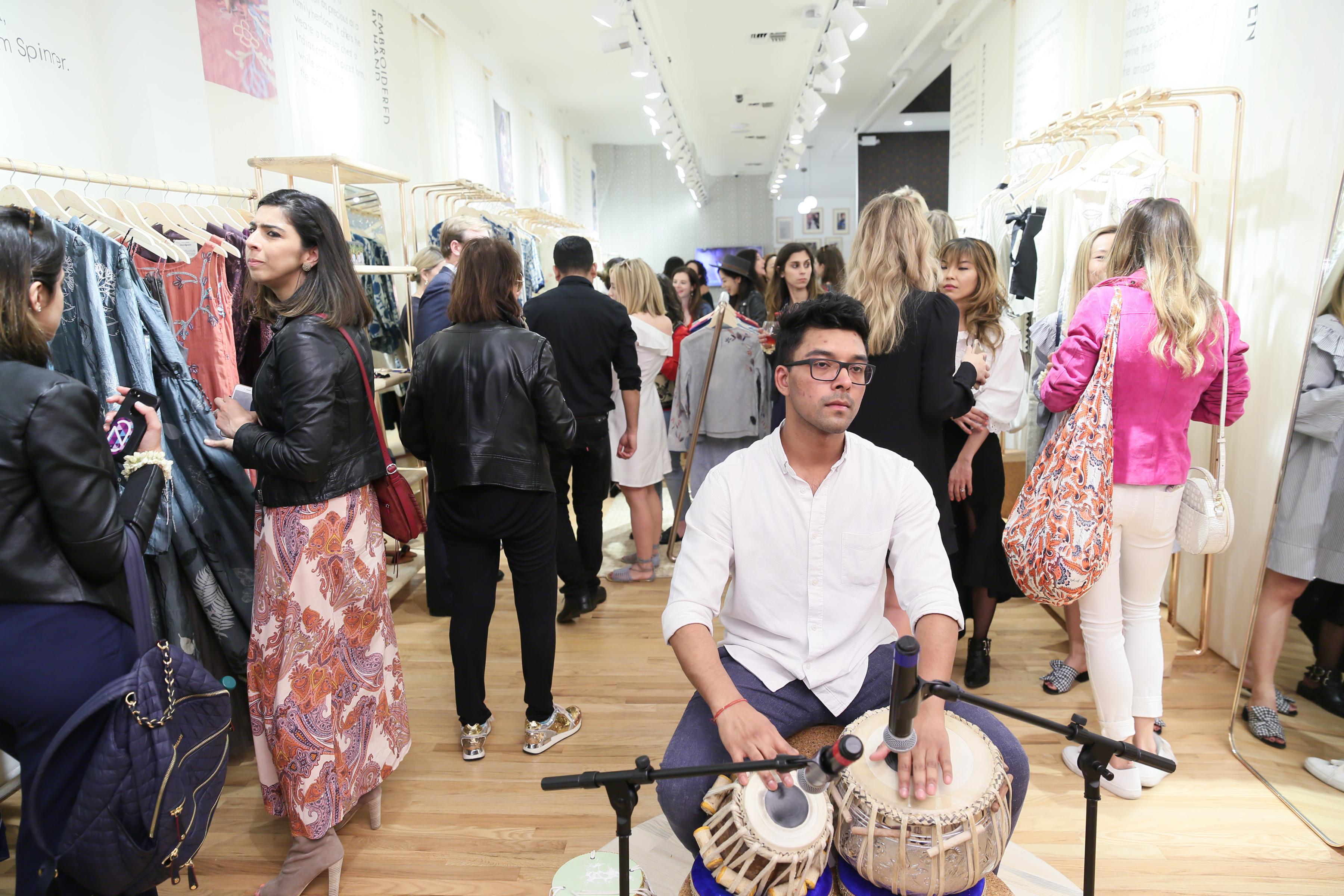 Anita Dongre : NYC Store Opening